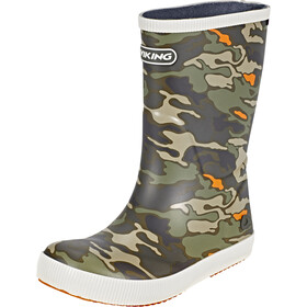 Viking Footwear Classic Indie Rubber Boots Children green/olive